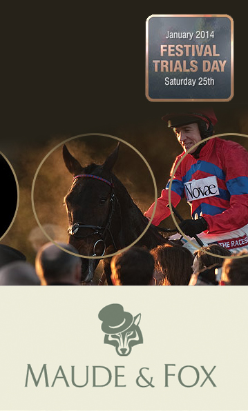 Maude & Fox tweed on sale at Festival Trials Day