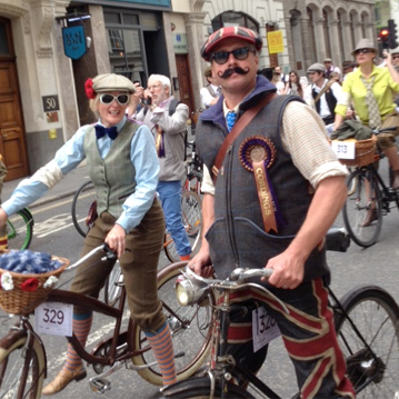 Maude & Fox on show at the Tweed Run