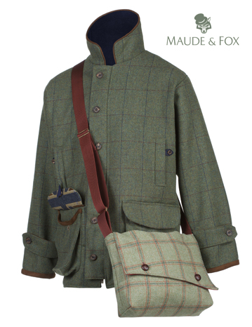 Maude & Fox - New tweed shooting jacket