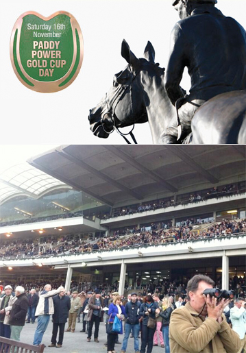 Maude & Fox at the 2013 Paddy Power Gold Cup Day