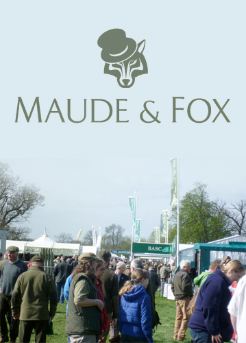 The 2014 BASC Gamekeepers Fair takes place in April with the Maude & Fox team looking forward to returning to the Catton Estate, Derbyshire.