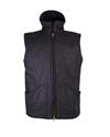 Mens Charcoal Gilet