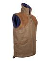 The' Peat ' Tweed Shooting Gilet